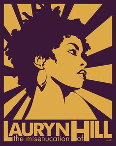 The Miseducation of Lauryn Hill Poster Art