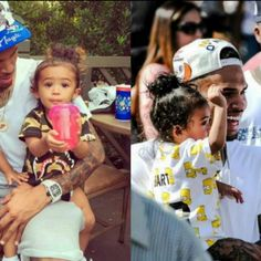 Chris Brown daughter royalty beautiful little girl baby Brown royalty
