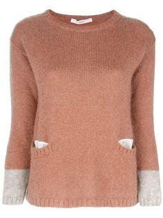 JUCCA Bi Tonal Knit Sweater