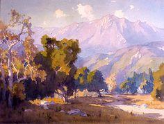 Elmer Wachtel (1864-1929) - *California Landscape* (abt 1915)
