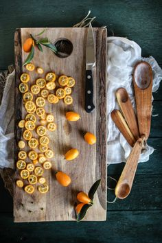 Candied Kumquat & Cream Cheese Tart / Adventures in Cooking