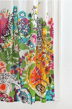 Woodland Garden Curtain