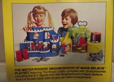 Neighborhood of Make-Believe Playset (1977) - The Mister Rogers' Neighborhood Archive