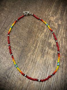 Ankle Jewelry, Cowgirl Jewelry, Western Jewelry, Cute Jewelry, Jewelry Ideas, Jewlery, Beaded Necklace Patterns, Beaded Choker, Necklace Designs