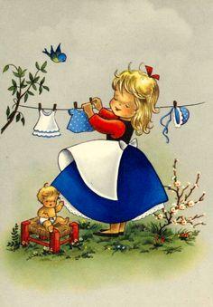 Magische Vintage Johanne L: Oud Illustraties