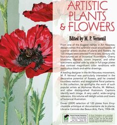 Artistic Plants and Flowers Ѿ ABOUT THIS BOOK Ѿ Welcome to Dover Publications