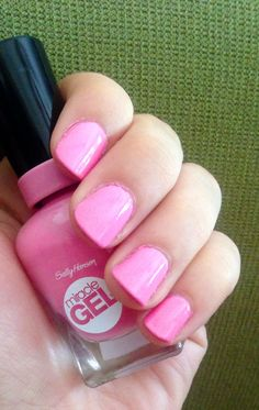 Pink Up Miracle Gel Today! on Pinterest | Sally Hansen, Gel Polish and