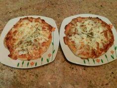 Pizza para dietas bajas en sodio y bajas en calorias