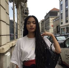 Best Women S Fashion Backpack Code: 2608261950 Dreads, Pretty People, Beautiful People, Twist Box Braids, Curly Hair Styles, Natural Hair Styles, Model Look, Girls Braids, Afro Hairstyles