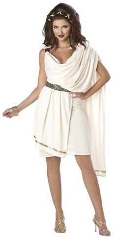 Deluxe Classic Toga (Female) Adult Costume from Buycostumes.com