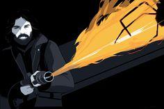 """Bones are bent outward, like he exploded from inside."" -Dallas [Alien]"