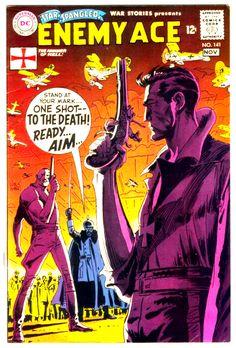 Enemy Ace #141 Cover Art by Joe Kubert