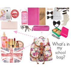 whats in my school bag edition
