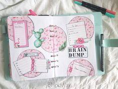 Plan with me. Bullet journal indeling voor juni 2018 brain dump #bulletjournal #bulletjournaling #bujo