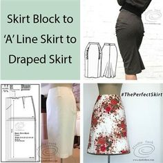 Skirt Patterns are the 101 of pattern making training. Skirt Pattern Making - CWA Rooms, COOLAMON. Draped Skirt, Gathered Skirt, Drape Skirt Pattern, Skirt Patterns, Sewing Patterns, Sewing Tutorials, Sewing Crafts, Sewing Projects, Knitting Blocking