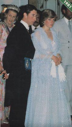 Charles & Diana in 1981