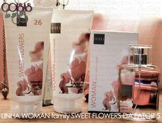 Linha WOMAN family SWEET FLOWERS da FATOR 5 e Sorteio de Top Comentaristas!
