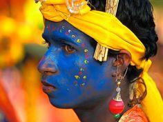 Demsa dancer, India.