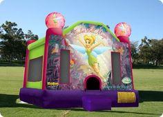 Tinkerbell Bouncy Castle