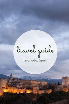 Travel Guide: the Alhambra, Granada #granada #alhambra