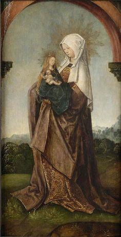 Santa Ana, María y el Niño.