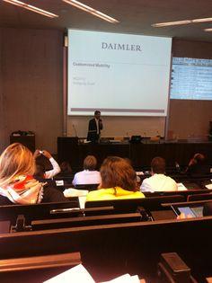Wolfgang Gruel of Daimler @ MC 2012 Salzburg, Conference, Tv, Tvs, Television Set