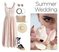 """Summer Wedding"" by shinjuhorie on Polyvore featuring Chicwish, Tory Burch, Cynthia Rowley, Allurez and Lokai"