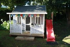 The Flagstaff is our most popular cubby house design.Cubby Central Cubbies are all custom made and can be altered to suit you . Kids Cubby Houses, Kids Cubbies, Play Houses, Kids Outdoor Play, Outdoor Play Spaces, Backyard For Kids, Outdoor Forts, Diy Playhouse, Backyard Playhouse