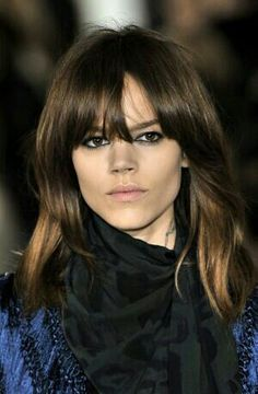 Gracing the covers of Vogue, is my latest girl crush: Freja Beha Erichsen. Short Layered Bob Haircuts, Short Hair Cuts, Makeup For Brown Eyed Girls, Freja Beha Erichsen, Mid Length Hair, Dream Hair, Grow Hair, Mannequins, Hair Lengths