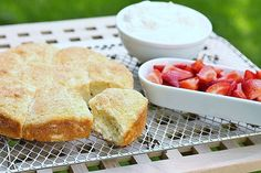 strawberry-lemon shortcakes