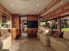 Luxurious Motorhomes Interior Prevost Conversion