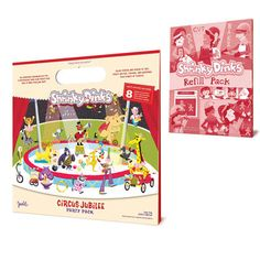 Circus Jubilee & Refill Pack, $15, now featured on Fab.