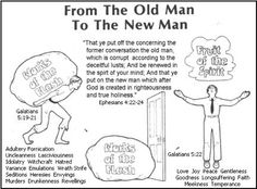 Ephesians 4 + Galatians 5 - Lesson 9- From the Old Man to the New Man