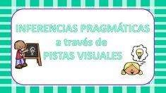 #TEA Trabajamos las inferencias pragmáticas a través de pistas visuales -Orientacion Andujar Inference, Aspergers, Educational Games, Speech Therapy, Lunch Box, Language, How To Plan, School, Children