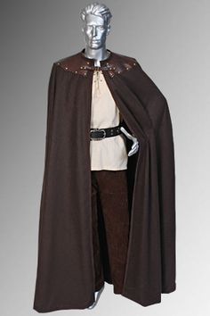 medieval clothing men tunic - Google Search I like the cloak shape.  Update it for Ashley's royal clothing or maybe a little bit fancier for Cyrus