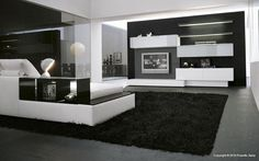 like the vibe here. modern wall unit and entertainment center Room Furniture Design, Living Room Furniture, Tv Furniture, Tv Design, House Design, Modern Interior Design, Interior Design Inspiration, Interior Ideas, Living Room Modern