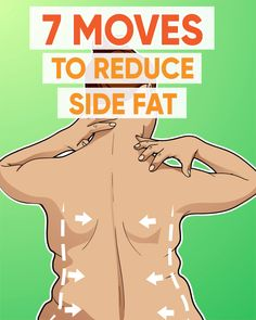 The most effective way to reduce side fat is quite below! 7 moves workout was made to get slimmer waist. Try it on and enjoy the results! Side Fat Workout, Abs Workout For Women, Dumbbell Workout, Workout Diet, Reduce Belly Fat, Lose Belly Fat, Get Ripped Fast, Slimmer Waist, Belly Fat Loss