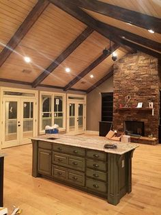 Creek Crossing is a craftsman style vacation house plan with a walkout basement and ample porch space. It is two story and will work great in the mountains.