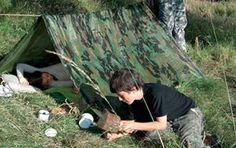 Buy our Den Kit from our Garden Toys & Games range online now at Mulberry Bush. Suitable for children aged 5 - Teenage. Crafts For Kids To Make, Gifts For Kids, Camouflage Face Paint, Army Camouflage, Mulberry Bush, Tent Pegs, Painted Sticks, Garden Toys, Outdoor Play