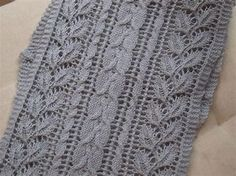 Image result for Lace Knitting Stitches Easy