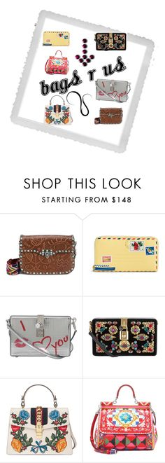 """""""we got the bag 4 you"""" by jedski on Polyvore featuring Polaroid, Valentino, Vera Bradley, Dolce&Gabbana and Gucci"""