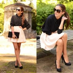 Love this outfit. Low key but still elegant. Perfect for a casual semi-formal event or brunch with the girls!