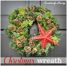 DIY Ideas For Christmas Wreaths #Christmas #ChristmasWreaths