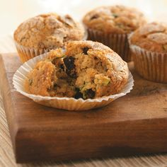 Orange Zucchini Muffins Recipe -For tender muffins, try this tip: When combining the muffin batter, stir just until dry ingredients are moistened. Overmixing makes muffins less tender. —Chris Snyder, Boulder, Colorado