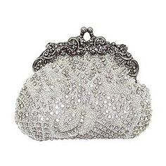 Silver 1930 Evening Bag