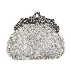Silver 1930 Evening Bag