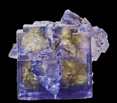 Fluorite with Chalcopyrite inclusions