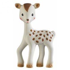 FanFan het Hertje is het beste vriendje van het bekende babyspeeltje Sophie de Giraf. Superschattig!