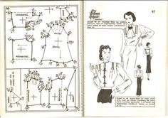 Lutterloh 1939 Book Of Cards -  Models Diagram Card Page 46 & 47