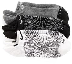 Nike Graphic Dri-FIT Ankle Socks (3-Pack)